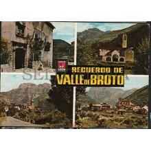 ANTIGUA POSTAL VALLE DE BROTO HUESCA ARAGON POSTCARD POSTKARTE           CC01631