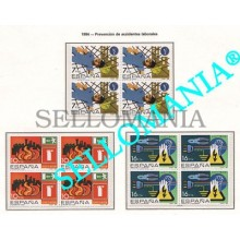 1984 PREVENCION DE ACCIDENTES LABORALES PREVENTION 2732 / 34 ** MNH B4 TC21498