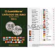 OFERTA CATALOGO DEL EURO 2015 LEUCHTTURM MONEDAS BILLETES   ULTIMO EN CASTELLANO