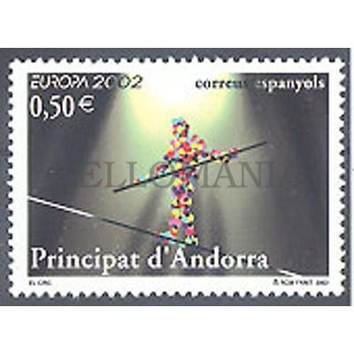 ANDORRA EUROPA EL CIRCO FUNAMBULISTA EDIFIL 295** NUEVO SIN CHARNELA ORIGINAL