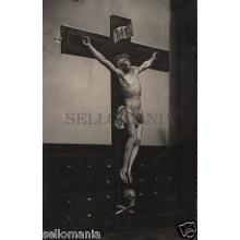 ANTIGUA POSTAL CRISTO SIGLO XV IGLESIA SAN MIGUEL VALLADOLID POSTCARD    CC00725