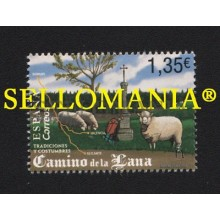 2018 CAMINO DE LA LANA MONTEAGUDO DE LAS SALINAS SHEEP EDIFIL 5244 ** MNH SPAIN WAY  TC21969