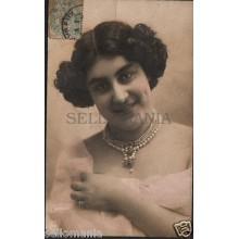 ANTIGUA POSTAL CARMELA RETRATOS MUJER 1900 WOMAN OLD POSTCARD POSTCARTE  CC00793