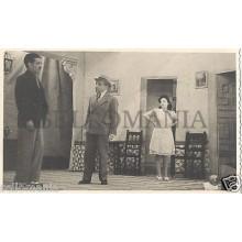FOTO APOSTALADA AÑOS 1945-49 TEATRO CATALAN CATALUÑA EL SUSTO            CC00075