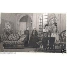 FOTO APOSTALADA AÑOS 1945-49 TEATRO CATALAN CATALUNYA MANCHA QUE LIMPIA  CC00080