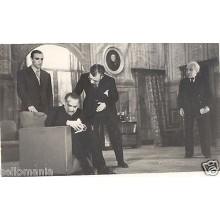 FOTO APOSTALADA AÑOS 1945-49 TEATRO CATALAN CATALUNYA MANCHA QUE LIMPIA  CC00082