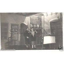 FOTO APOSTALADA AÑO 1949 TEATRO CATALAN LA CREU DE LA MASIA CATALUNYA    CC00101