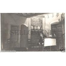 FOTO APOSTALADA AÑO 1949 TEATRO CATALAN .LA CREU DE LA MASIA CATALUNYA   CC00102