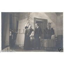 FOTO APOSTALADA AÑOS 1945-49 TEATRO CATALAN LOS CHAMANTEROS CATALUNYA    CC00104