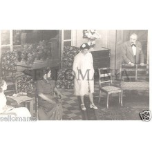 FOTO APOSTALADA AÑO 1948 TEATRO CATALAN BLANCA NEGRA ORFEO GRACIENC      CC00107