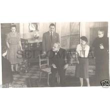 FOTO APOSTALADA AÑO 1948 TEATRO CATALAN BLANCA NEGRA ORFEO GRACIENC      CC00108