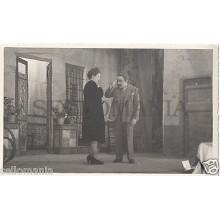 FOTO APOSTALADA AÑOS 1945-49 TEATRO CATALAN PASIONERA CATALUNYA          CC00109