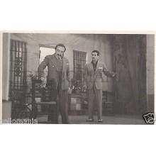 FOTO APOSTALADA AÑOS 1945 1949 TEATRO CATALAN PASIONERA CATALUNYA        CC00110