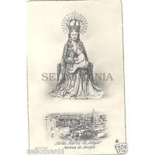ANTIGUA POSTAL RELIGIOSA VIRGEN SANTA MARIA LA MAYOR BURGOS OLD POSTCARD CC00162