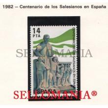 1982 SALESIAN SCHOOLS SAINT JOHN BOSCO VIGO PONTEVEDRA 2684 MNH **    TC21254 FR