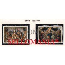 1982 NOËL CHRISTMAS NAVIDAD ADORATION FLIGHT EGYPT  2681 / 82 MNH **  TC21252 FR