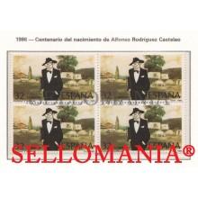 1986 ALFONSO RODRIGUEZ CASTELAO ESCRITEUR WRITER 2873 B4 MNH ** TC21409 FR