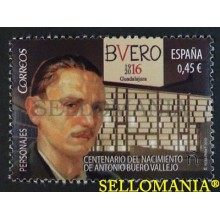 2016 CENTENARY OF BIRTH OF ANTONIO BUERO VALLEJO CENTENARIO NACIMIENTO EDIFIL 5083 ** MNH TC20430