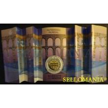 2016 ACUEDUCTO DE SEGOVIA PATRIMONIO MUNDIAL WORLD HERITAGE OF SEGOVIA AQUEDUCT EDIFIL 5084 ** MNH HB SHEET TC20433