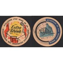 OLD COASTER YEARS 1950-60 EXTRA DRINK COLA BELGIUM  POSAVASOS CC006