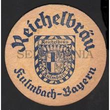 OLD BEER COASTER 1954 REICHELBRÄU GERMANY TEGESTOLOGY POSAVASOS            CC002