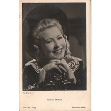 OLD POSTCARD ACTRESS GERMANY KARIN HARDT YEARS 1940 CARTE POSTALE POSTAL  CC1274