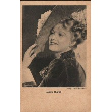 OLD POSTCARD ACTRESS GERMANY MARTE HARELL YEARS 1940 CARTE POSTALE POSTAL CC1279