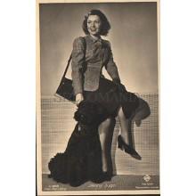OLD POSTCARD ACTRESS GERMANY JENNY JUGO YEARS 1940 CARTE POSTALE POSTAL   CC1275