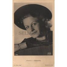 OLD POSTCARD ACTRESS GERMANY VIKTORIA v BALLASKO YEARS 1940 CARTE POSTALE CC1277