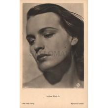 OLD POSTCARD ACTRESS GERMANY LOTTE KOCH YEARS 1940 CARTE POSTALE POSTAL   CC1278