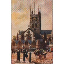 OLD POSTCARD ILLUSTRATORS ST. SAVIOURS CATHEDRAL TUCK&SONS CARTE POSTALE  CC1241