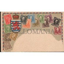 OLD STAMPS POSTCARD LUXEMBOURG STAMPS POSTCARD CARTE POSTALE POSTAL       CC1246