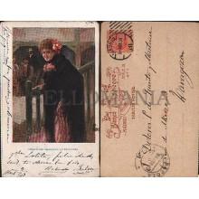 OLD POSTCARD ILLUSTRATORS LA REVOLTOSA YEAR 1903 CARTE POSTALE POSTAL     CC1234