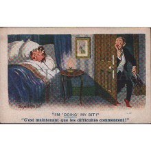 OLD POSTCARD ILLUSTRATORS FLORENCE HOUSE BARNES LONDON CARTE POSTALE      CC1233