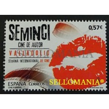 2016 CINE ESPAÑOL SPANISH AUTHORS CINEMA SEMINCI VALLADOLID LABIOS LIPS EDIFIL 5094 ** MNH TC20447